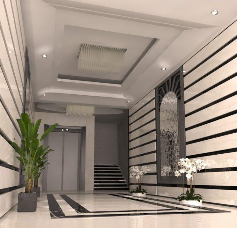 مدخل مشروع The Royal Estate النرجس الجديدة
