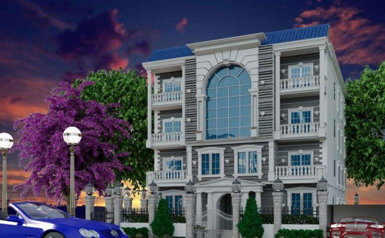 واجهة مشروع The Royal Estate النرجس الجديدة